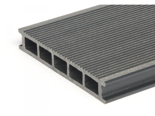 WPC Dielen Terrassendielen Hohlkammerdielen dunkelgrau günstig online vom Hersteller kaufen