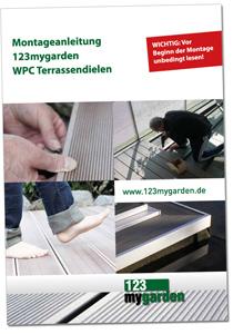 Montageanleitung 123mygarden WPC Terrassendielen