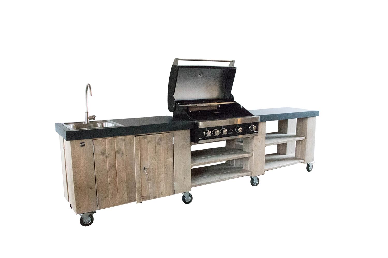Outdoor Küche Edelstahl Kaufen : Dutch wood aussenküche gartenküche wpc dielen zaun shop