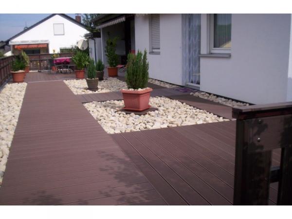 wpc terrassenbausatz set f r 50 qm wpc dielen zaun shop. Black Bedroom Furniture Sets. Home Design Ideas