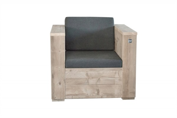 Dutch Wood Block Lounge Sessel Holzbank Gartenbank Shop