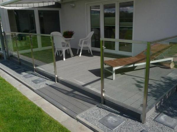 wpc terrassenbausatz set f r 40 qm wpc dielen zaun shop. Black Bedroom Furniture Sets. Home Design Ideas