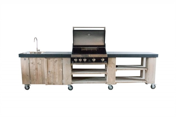 Outdoorküche Möbel Günstig : Dutch wood aussenküche gartenküche wpc dielen zaun shop