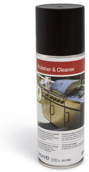 Grandhall Polisher & Cleaner für Edelstahl, Chrom und Aluminium